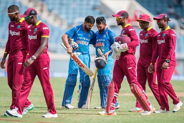Windies clash with India
