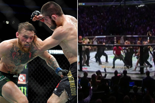 McGregor vs Khabib: Win, brawl and disgrace.