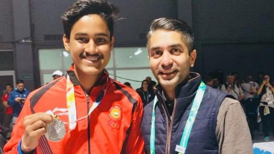 Tushar Mane opened Indian medal account with a Silver.