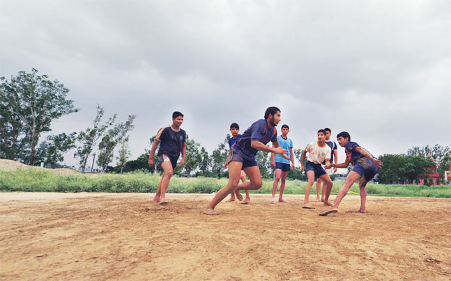 The story of Kabaddi in India.