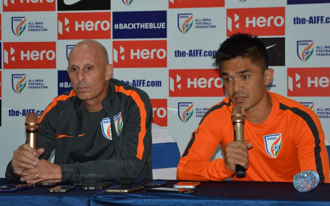 Sunil Chhetri loose captaincy after a tiff with coach Stephen Constantine.