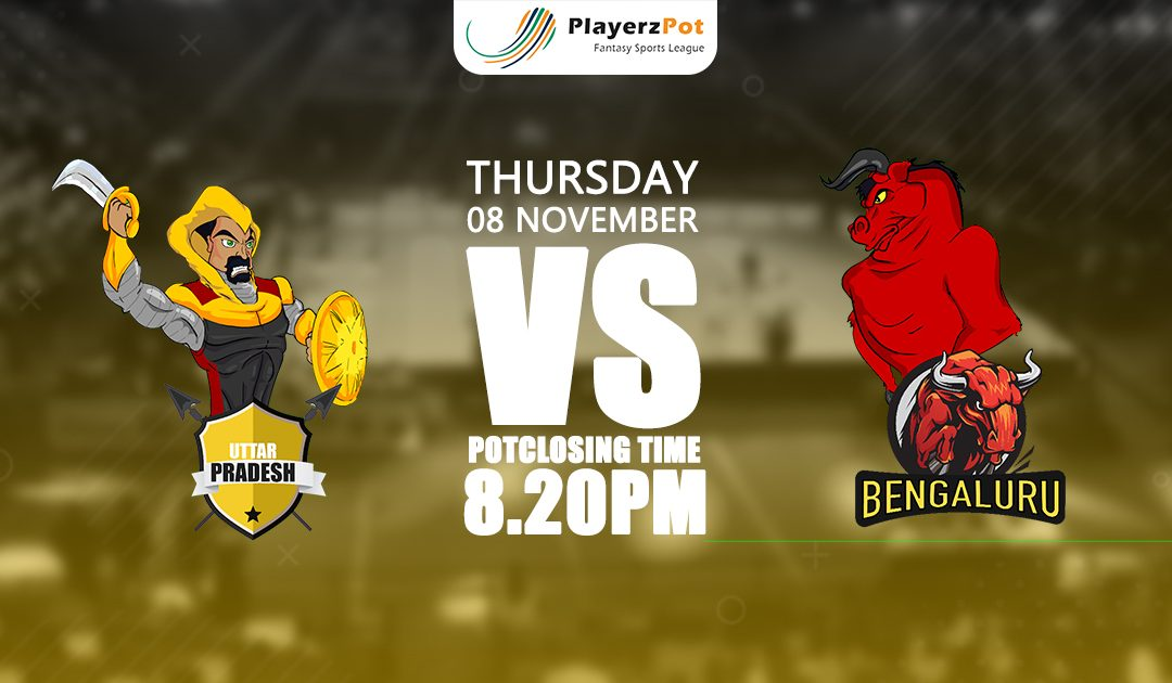 PlayerzPot Kabaddi Prediction: U.P vs Bengaluru | Match 53