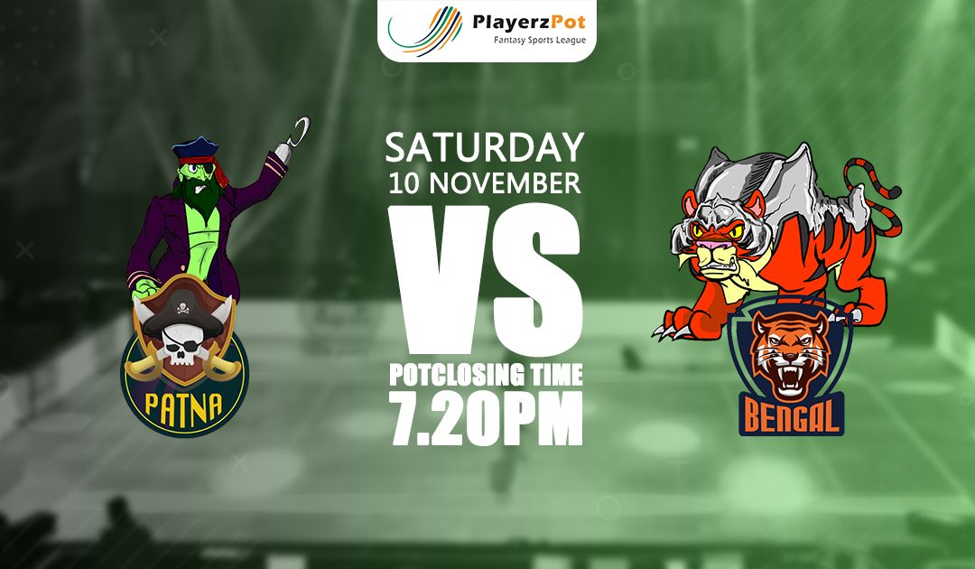 PlayerzPot Kabaddi Prediction: Patna vs Bengal | Match 56