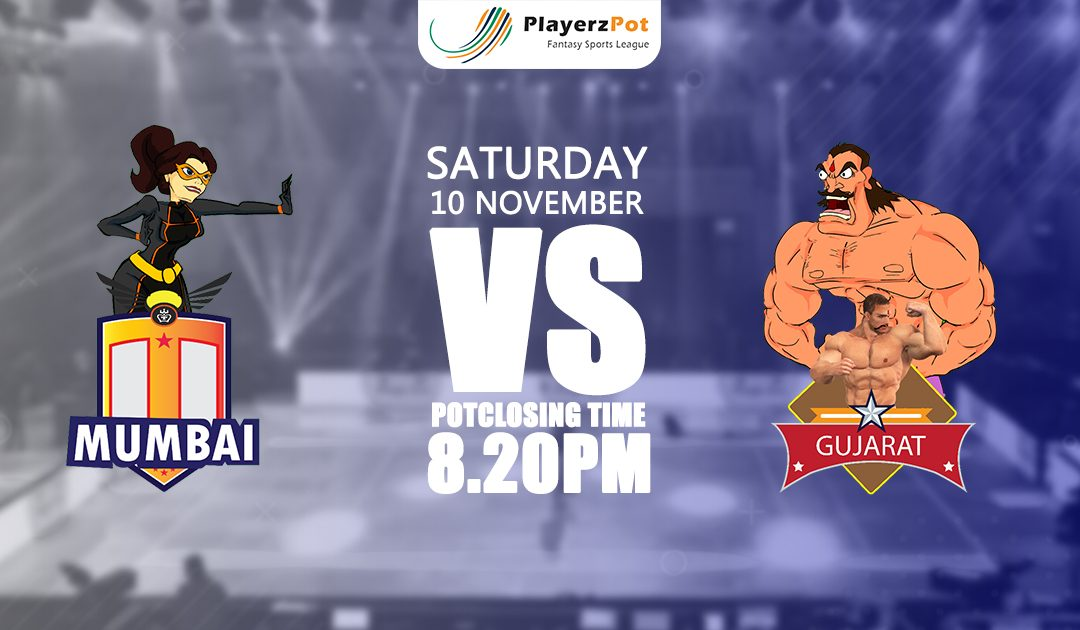PlayerzPot Kabaddi Prediction: Mumbai vs Gujarat | Match 57