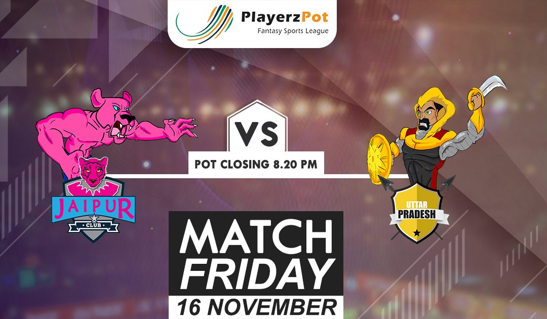 PlayerzPot Kabaddi Prediction:  Jaipur vs UP | Match 67