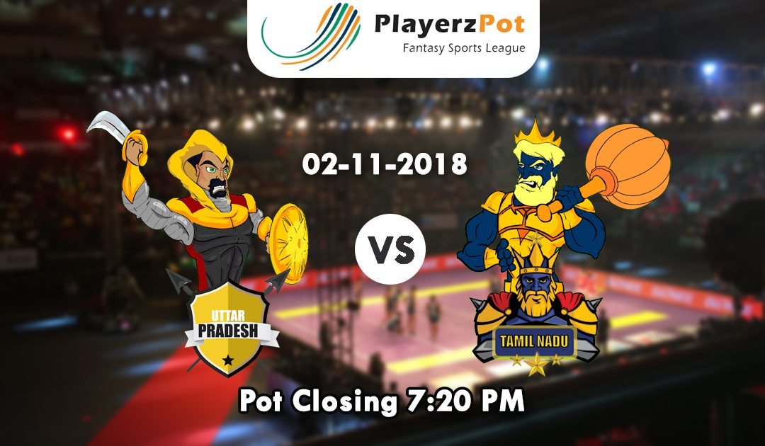 PlayerzPot Kabaddi Prediction: U.P vs Tamil Nadu | Match 44