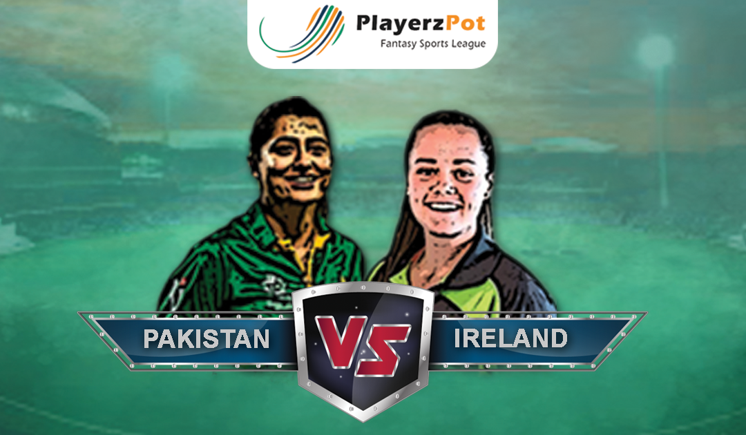 PlayerzPot Women's Cricket Prediction: Pakistan vs Ireland | Match 09