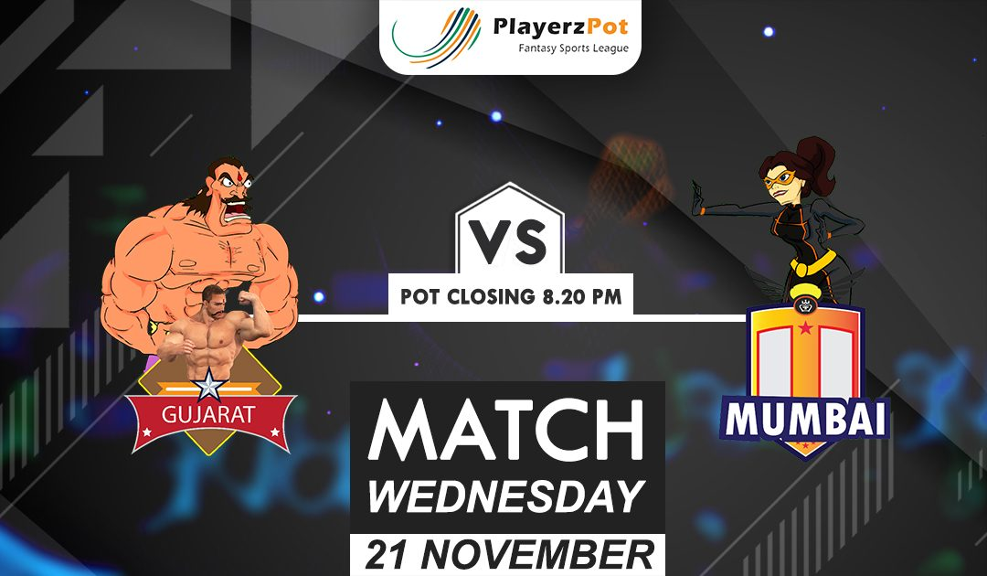 PlayerzPot Kabaddi Prediction: Gujarat vs Mumbai | Match 75