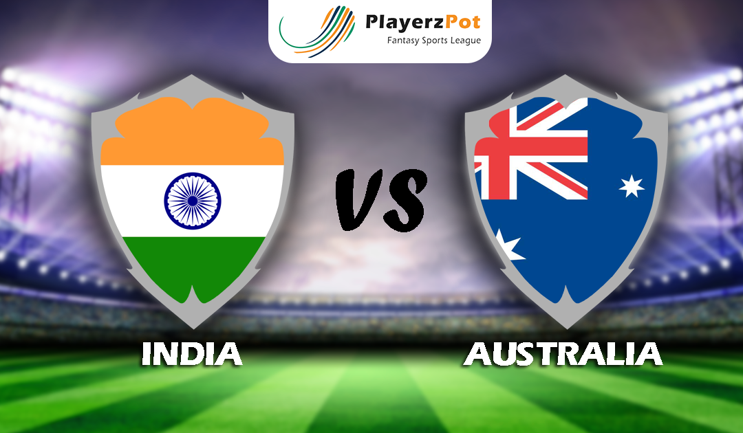 PlayerzPot Cricket Prediction: India vs Australia | 1st Test | T20