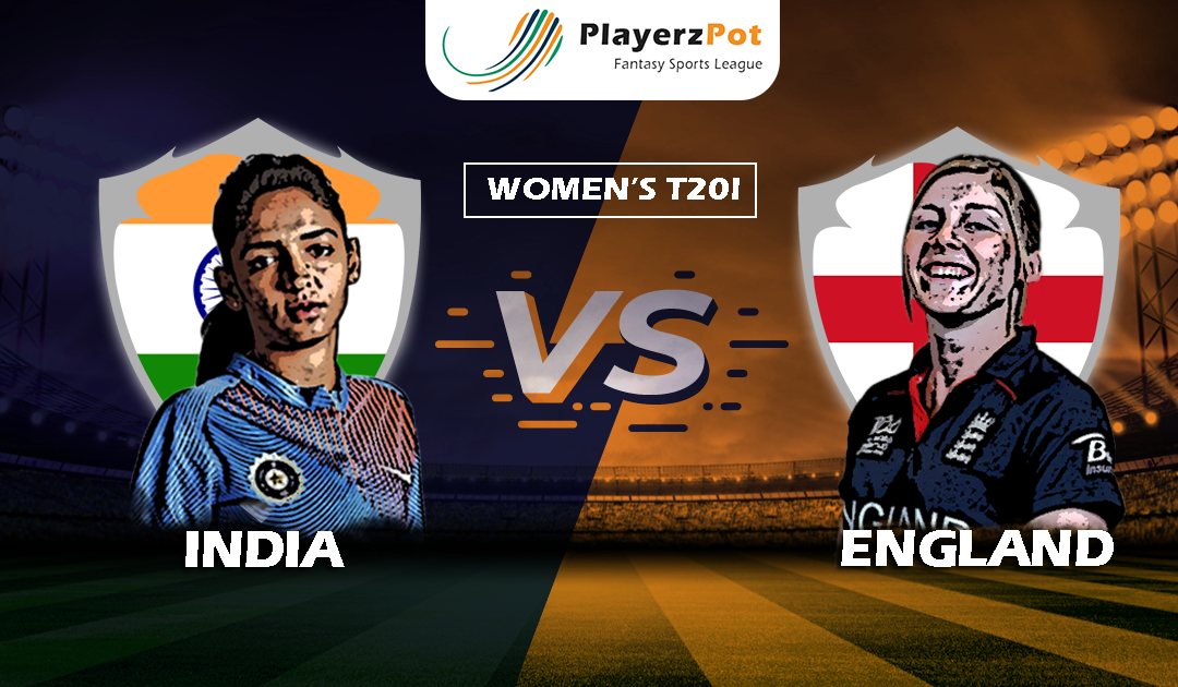 PlayerzPot Cricket Prediction: England vs India | Women's T20 |