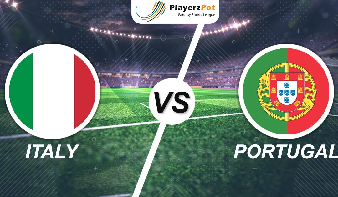 PlayerzPot Football Prediction: Italy vs Portugal | Nations League