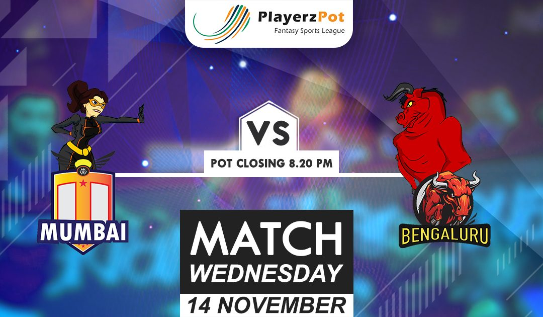 PlayerzPot Kabaddi Prediction: Mumbai vs Bengaluru | Match 63
