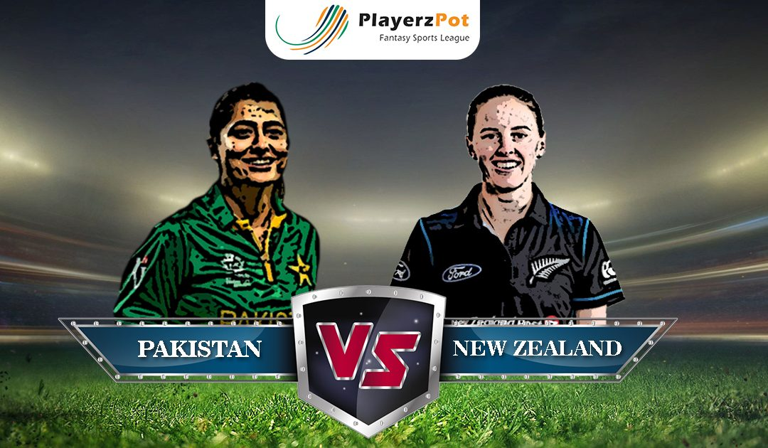 PlayerzPot Women's Cricket Prediction: Pakistan vs New Zealand | Match 14