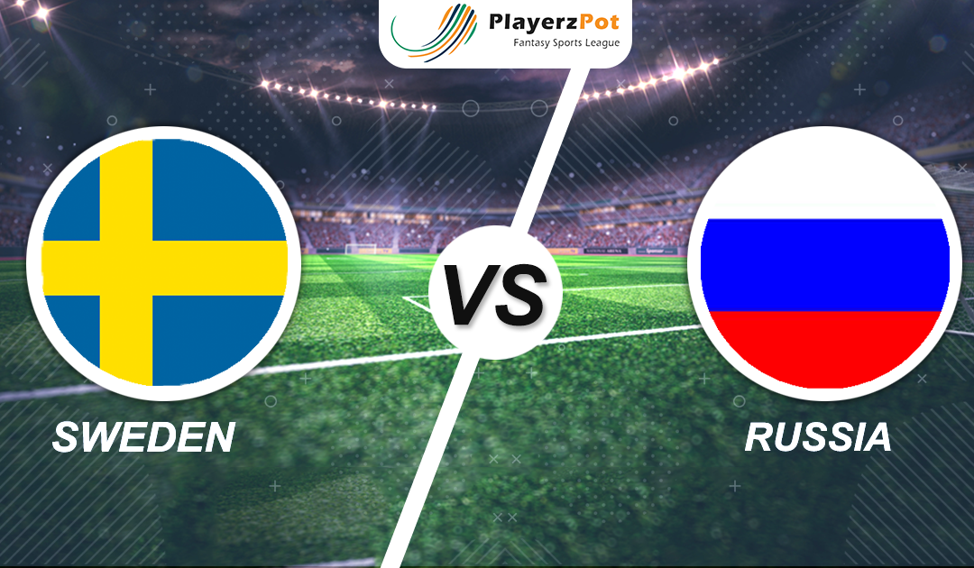 PlayerzPot Football Prediction: Sweden vs Russia