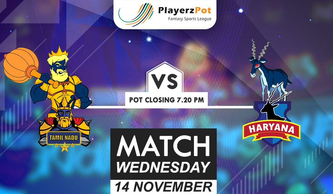 PlayerzPot Kabaddi Prediction: Tamil vs Haryana | Match 62