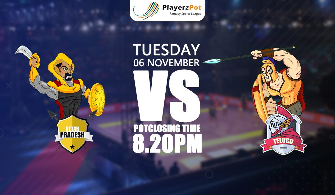 PlayerzPot Kabaddi Prediction: U.P vs Telugu | Match 51