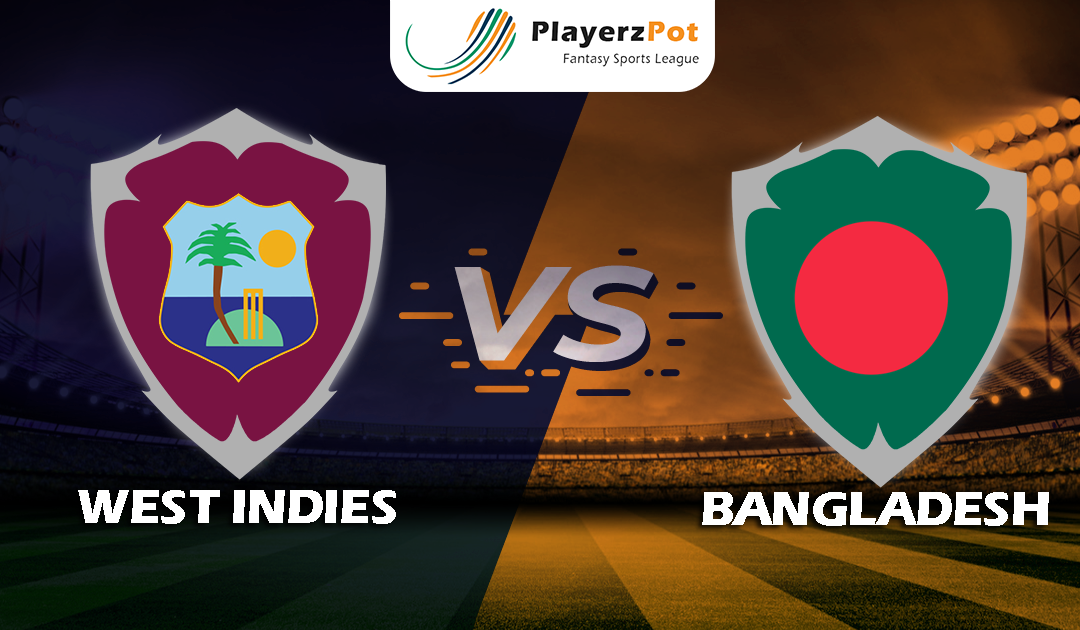 PlayerzPot Cricket Prediction: Bangladesh vs West Indies | 2 of 3 Test