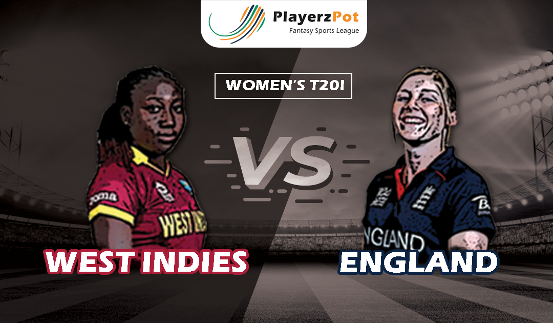 PlayerzPot Women's Cricket Prediction: England vs West Indies |