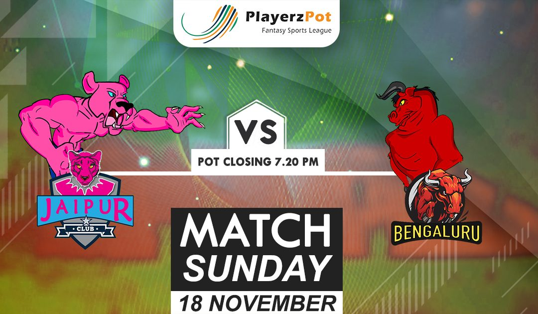 PlayerzPot Kabaddi Prediction: Jaipur vs Bengaluru | Match 70