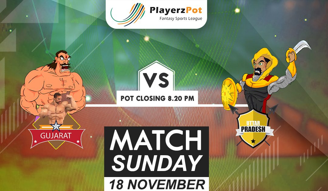 PlayerzPot Kabaddi Prediction: Gujarat vs UP | Match 71