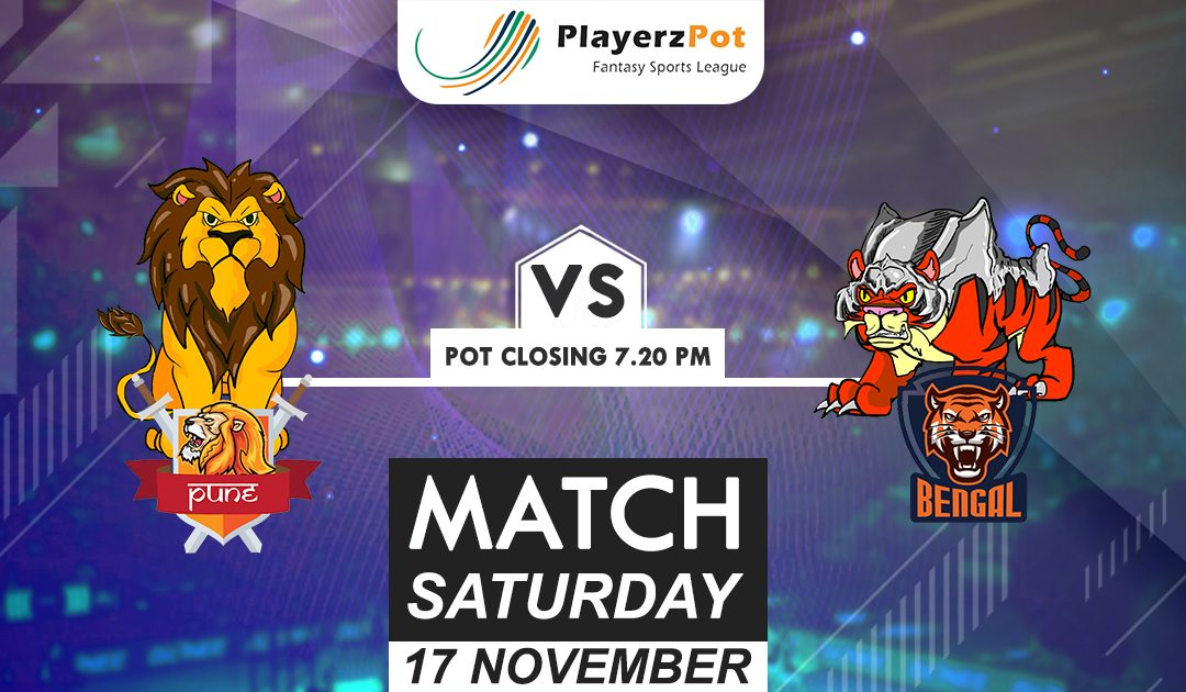 PlayerzPot Kabaddi Prediction: Pune vs Bengal | Match 68