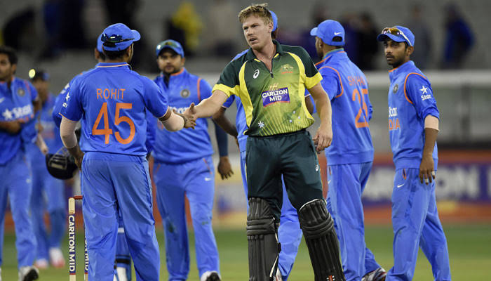 Second T20I match washed out in Melbourne rain.