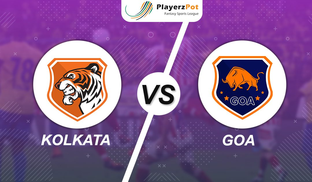PlayerzPot Football Prediction: Kolkata vs Goa |
