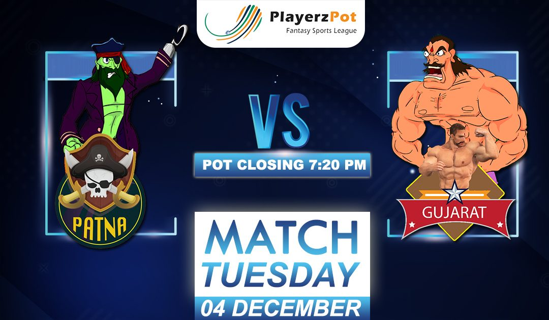 PlayerzPot Kabaddi Prediction: Patna vs Gujarat | Match 94