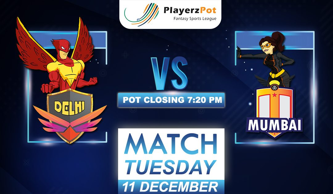 PlayerzPot Kabaddi Prediction: Delhi vs Mumbai | Match 106 |