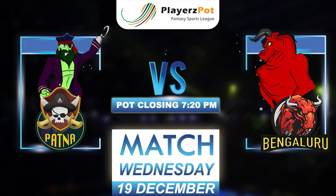 PlayerzPot Kabaddi Prediction: Bengaluru vs Patna | Match 119 |