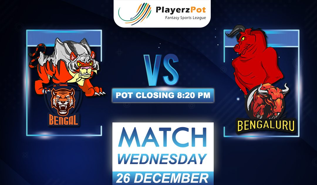 PlayerzPot Kabaddi Prediction: Bengal vs Bengaluru | Match 130 |
