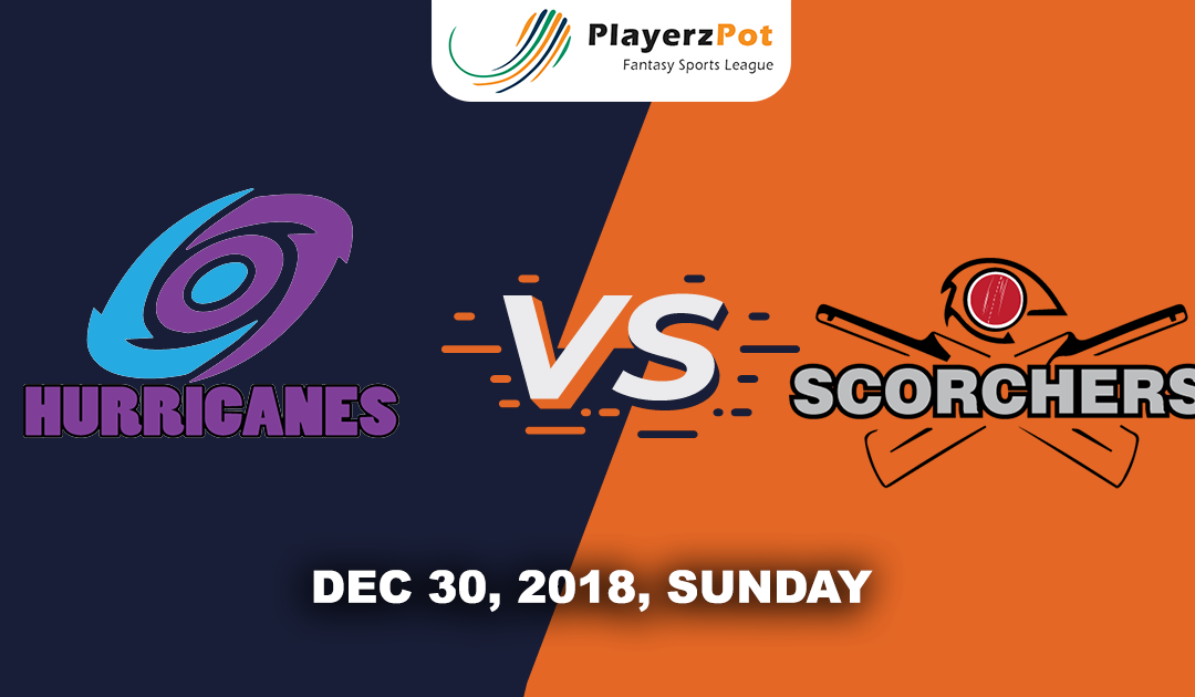 Hobart Hurricanes Vs Perth Scorchers | Match 13 | Big Bash Cricket