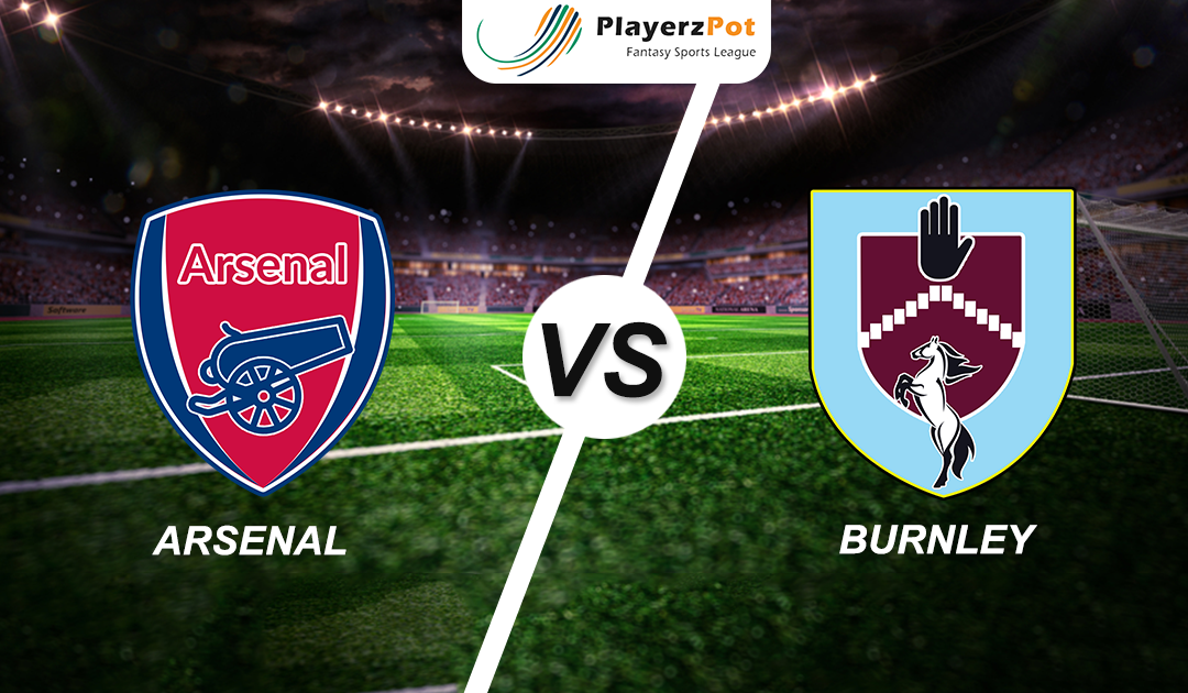 PlayerzPot Football Prediction: Arsenal vs Burnley |