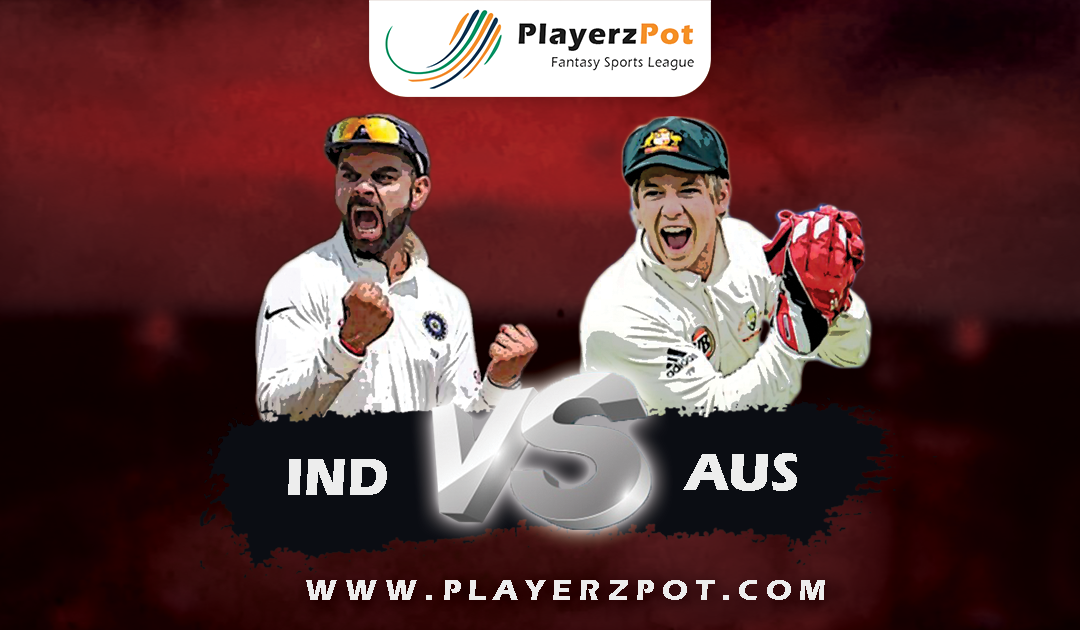 PlayerzPot Cricket Prediction: India vs Australia |  1st Test Match |