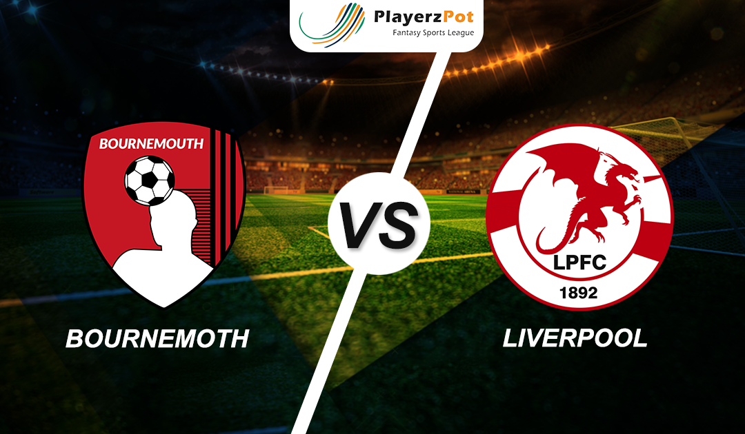PlayerzPot Football Prediction: Liverpool vs Bournemouth |