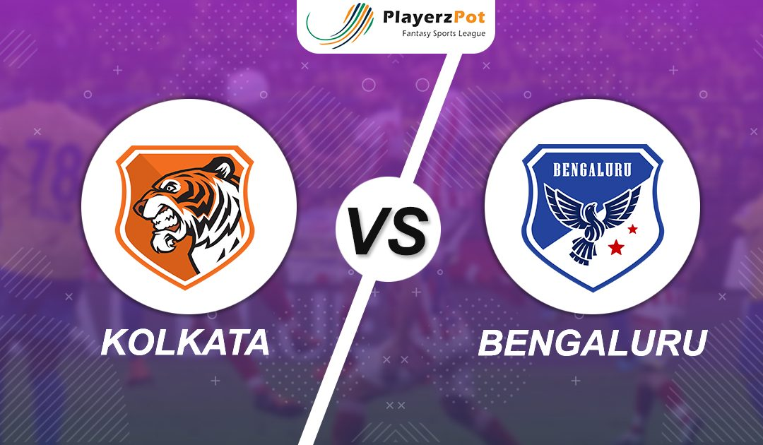 PlayerzPot Football Prediction: Kolkata vs Bengaluru |