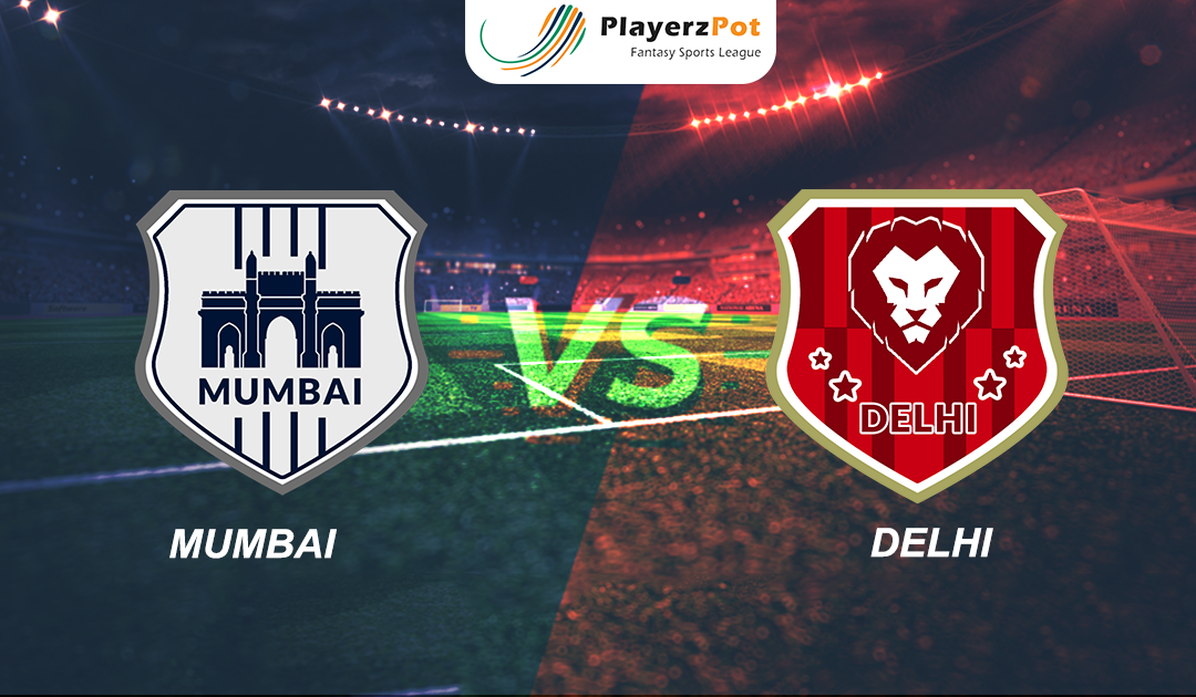PlayerzPot Football Prediction: Mumbai vs Delhi |