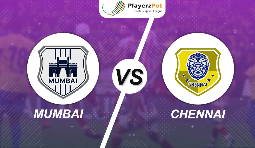PlayerzPot Football Prediction: Mumbai vs Chennai |