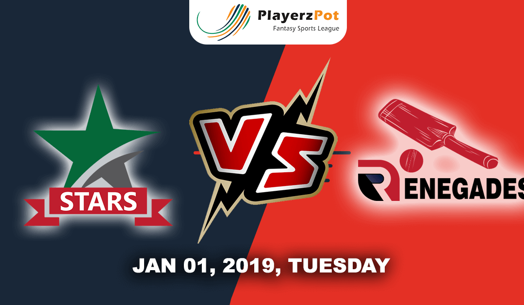 Melbourne Stars Vs Melbourne Renegades | Match 16 | Big Bash Cricket
