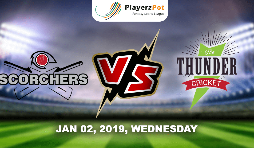 Sydney Thunders Vs Perth Scorchers | Match 17 | Big Bash Cricket