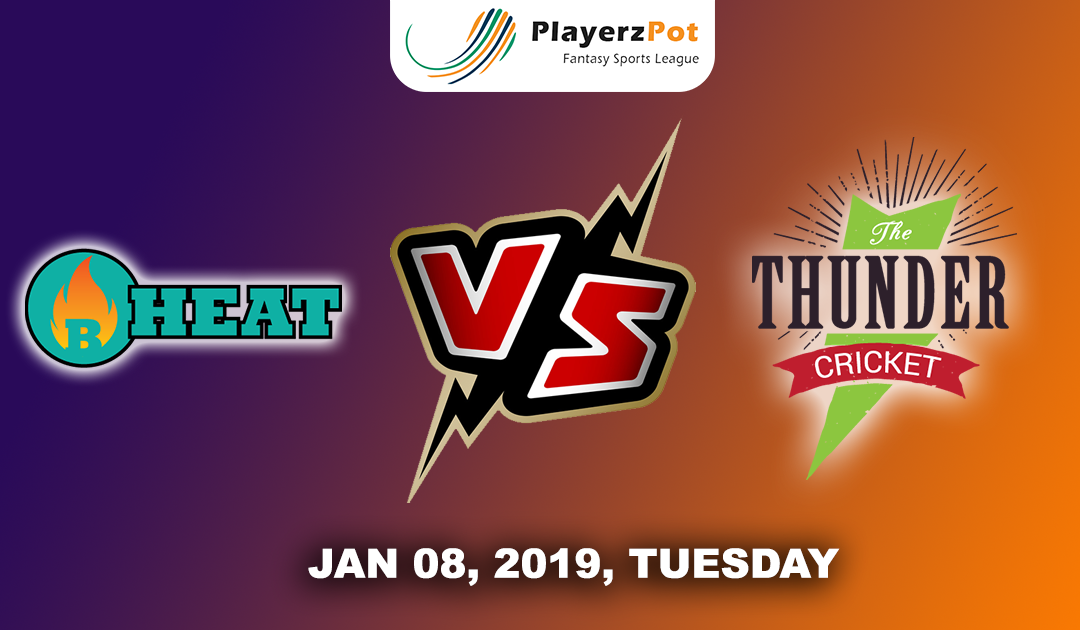 Sydney Thunders Vs Brisbane Heat | Match 24 |