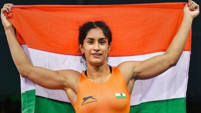 Vinesh Phogat first Indian to be nominated for Laureus World Sports award!