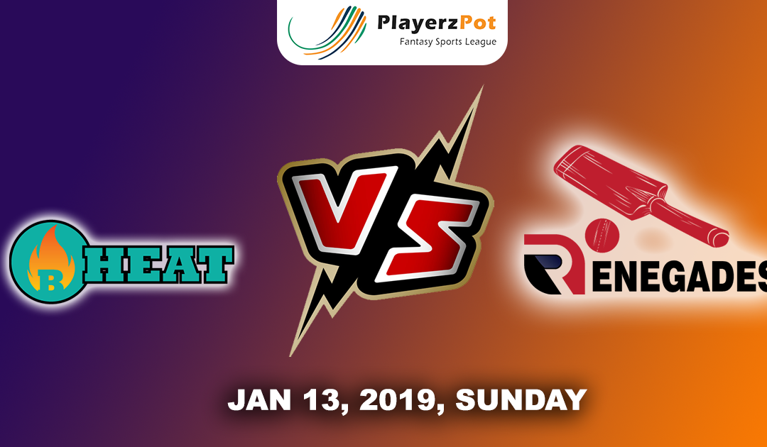 Brisbane Heat Vs Melbourne Renegades | Match 29 |