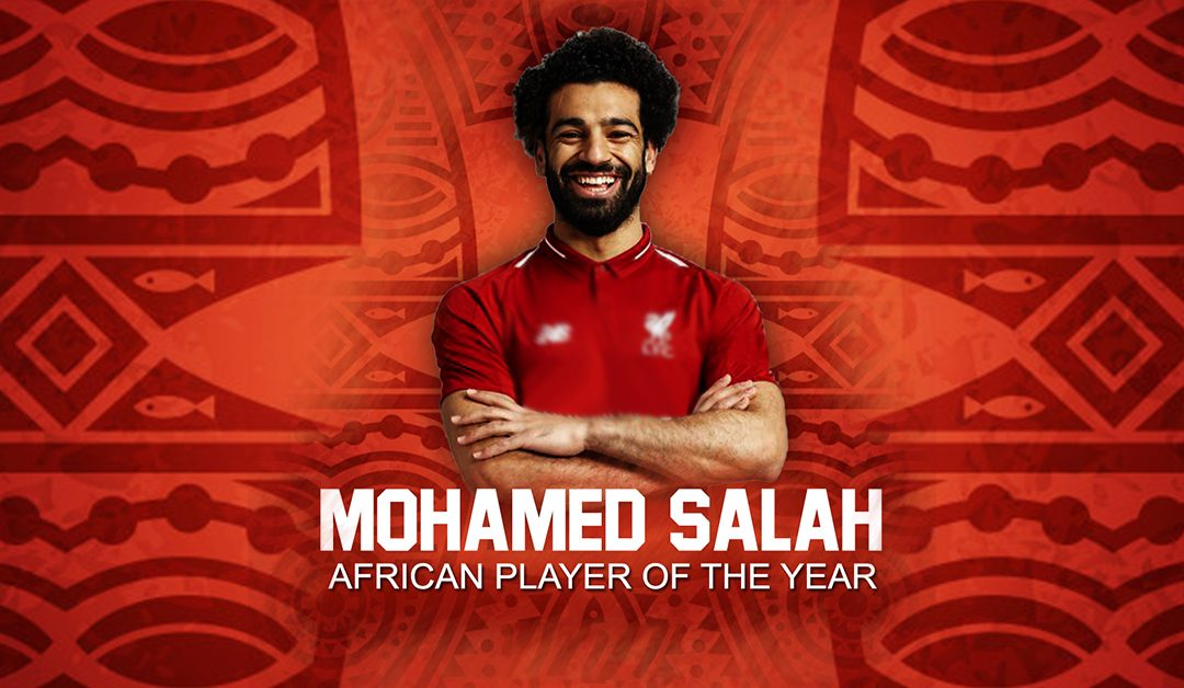 Mohamed Salah wins CAF African Player of the year award!