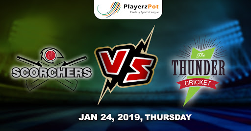 PlayerzPot Cricket Prediction: Perth Scorchers vs Sydney Thunders | Match 41