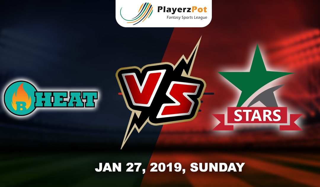 PlayerzPot Cricket Predictions: Brisbane Heat vs Melbourne Stars| Match 42