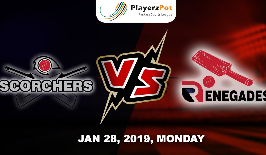 PlayerzPot Cricket Predictions: Melbourne Renegades vs Perth Scorchers| Match 43