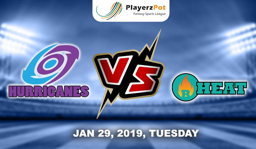 PlayerzPot Cricket Prediction: Hobart Hurricanes vs Brisbane Heat | Match 43