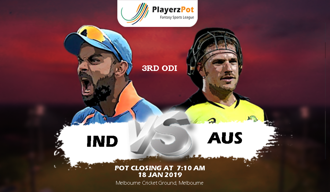 PlayerzPot Cricket Prediction: India vs Australia Prediction | 3rd ODI