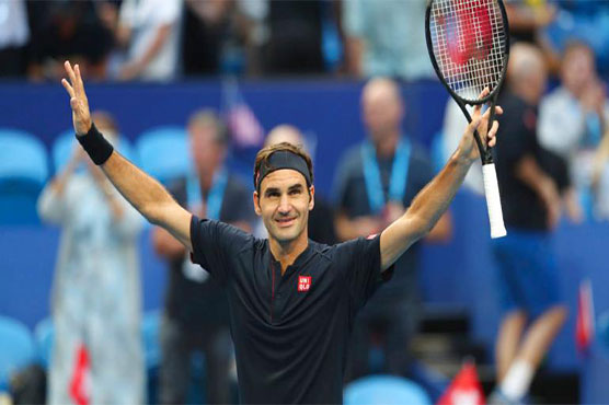 Hopman Cup: Roger Federer ensures Switzerland chance to defend the cup!